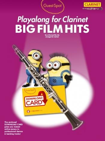 Guest Spot: Big Film Hits Clarinet (Book/Download Card)