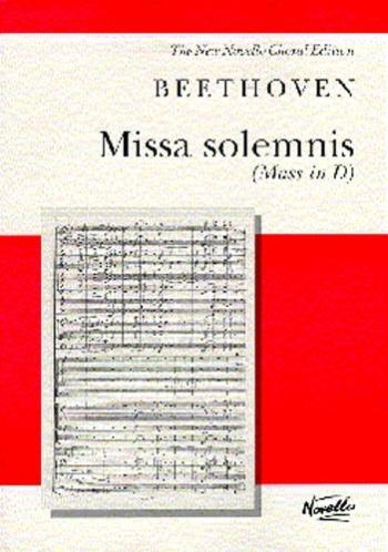 Missa Solemnis: Vocal Score (Novello)