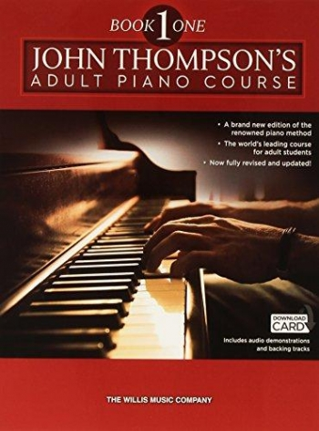 John Thompson's Adult Piano Course: Book One  Book & Download Card