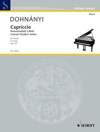 Capriccio: F Minor: Op. 28/6: Piano Solo (Schott)