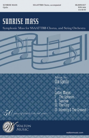 Sunrise Mass Vocal SSAATTBB (Hal Leonard)