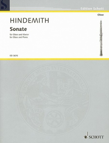 Sonata Oboe & Piano (Schott)