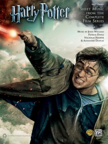 Harry Potter Complete Film Series: Easy Piano