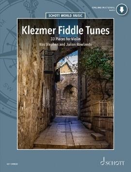 Klezmer Fiddle Tunes 33 Pieces For Violin Book & Cd