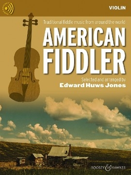 American Fiddler: Violin Part With CD  (huws Jones)