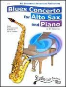 Blues Concerto: Alto Saxophone Recording CD ONLY