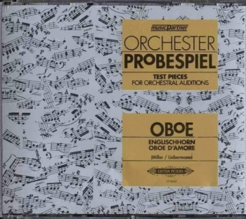 Test Pieces For Orchestral Auditions Oboe (Orchester Probespiel) Cd Only