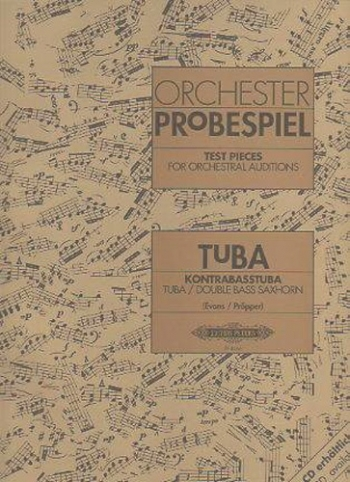 Test Pieces For Orchestral Auditions Tuba (Orchester Probespiel)