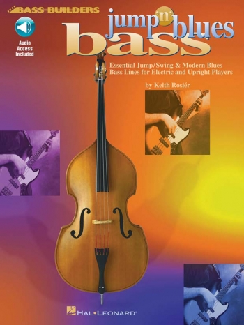 Jump N Blues Bass : Bass Guitar Or Double Bass: Book And CD
