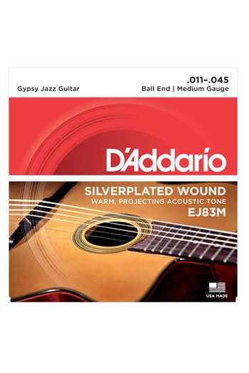 D'Addario Acoustic Gypsy Jazz Guitar EJ83M