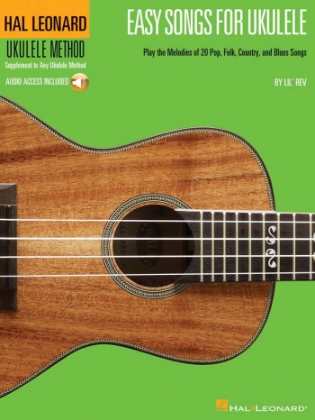 Easy Songs For Ukulele: Ukulele (Hal Leonard)
