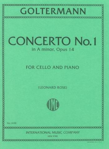 Concerto: Concerto No.1 A Minor Op14: Cello (International)