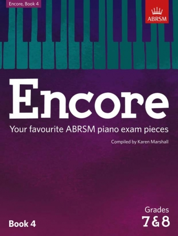 Encore: Book 4, Grades 7 & 8 Piano (ABRSM)