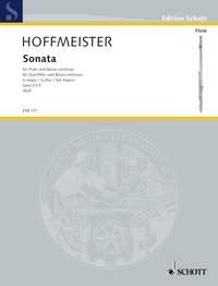 Sonata G Major, Op. 21/3: Flute And Piano (Schott)