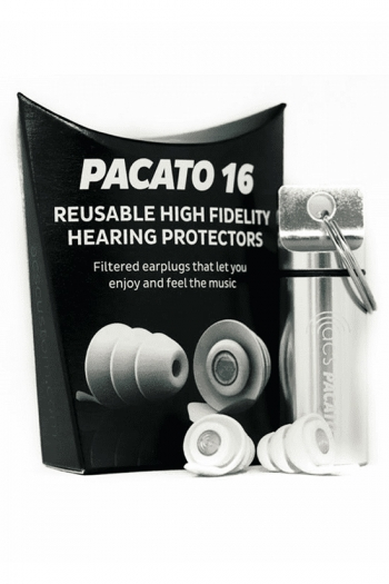 High Fidelity Hearing Protectors - Pacato 16 (Ear Plugs By ACS)