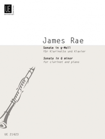Sonata In G Minor Clarinet & Piano (Universal) (James Rae)