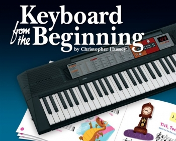 Keyboard From The Beginning Book (Hussey)