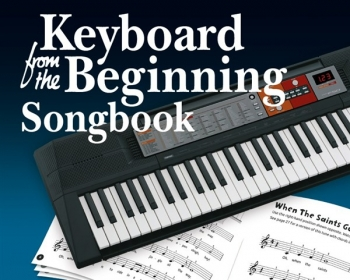 Keyboard From The Beginning Songbook Book (Hussey)
