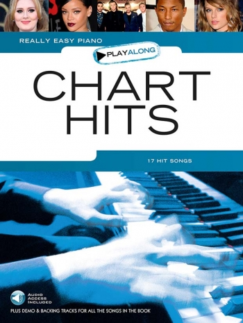 Really Easy Piano Chart Hits: Playalong Book & Download Card