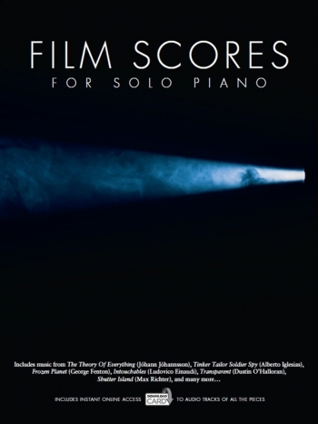 Film Scores For Solo Piano: Book & Download Card