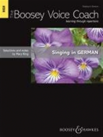 The Boosey Voice Coach: High Voice: Singing In German (mary King)