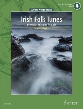 Irish Folk Tunes: 60 Traditional Pieces: Viola: Book & CD (Schott)