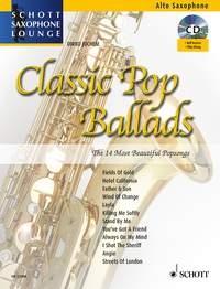 Schott Saxophone Lounge: Classic Pop Ballads: Alto Sax: Book & CD (Juchem)