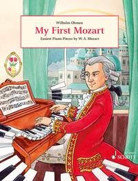 My First Mozart: Easiest Piano Pieces By Mozart (Schott)
