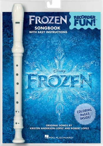 Frozen Songbook With Easy Instructions: Recorder And Music