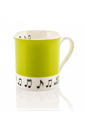 Little Snoring: Colour Block Mug - Pea Green