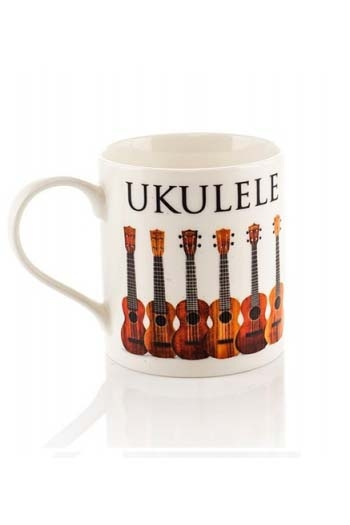 Little Snoring: Music Word Mug - Ukulele