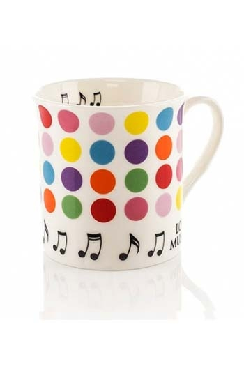 Little Snoring: Colour Block Mug - Spots