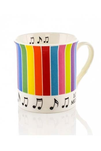 Little Snoring: Colour Block Mug - Stripes