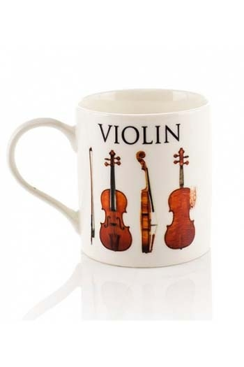 Little Snoring: Music Word Mug - Violin