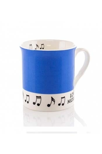 Little Snoring: Colour Block Mug - Blue