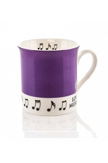 Little Snoring: Colour Block Mug - Purple