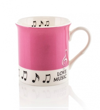 Little Snoring: Colour Block Mug - Pink