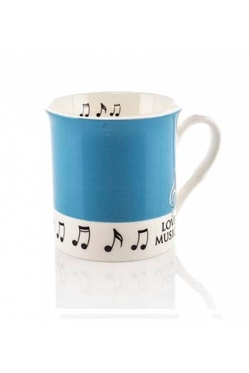 Little Snoring: Colour Block Mug - Teal