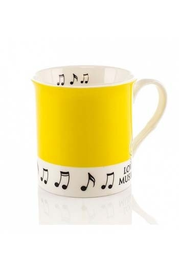 Little Snoring: Colour Block Mug - Yellow