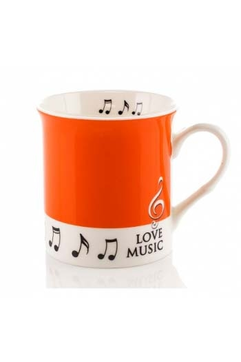 Little Snoring: Colour Block Mug - Orange