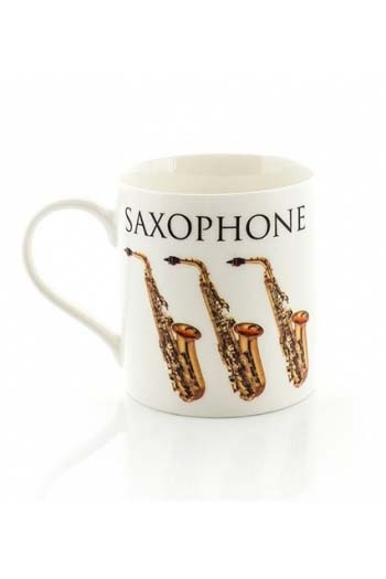Little Snoring: Music Word Mug - Saxophone