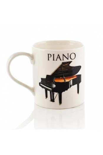 Little Snoring: Music Word Mug -  Piano