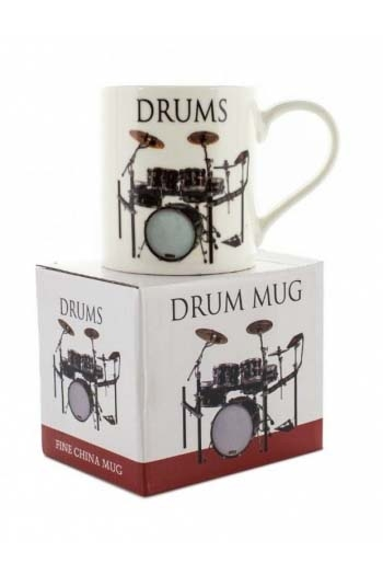 Little Snoring: Music Word Mug -  Drums