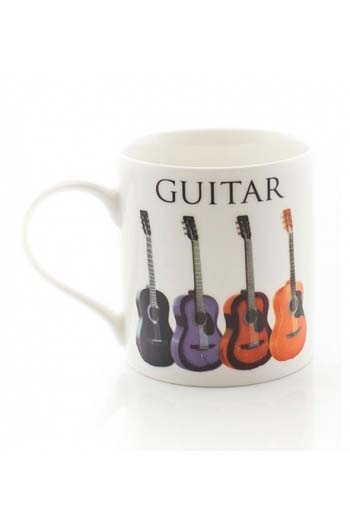 Little Snoring: Music Word Mug - Acoustic Guitar