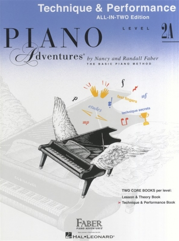 Piano Adventures: Technique And Performance Book - Level 2A (Nancy & Randall Faber)