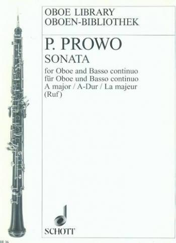 Sonata No.5 A Major Oboe & Piano (Schott)