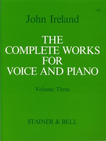 Complete Works For Voice: Vol 3: Medium Voice