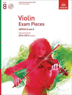 ABRSM Violin Exam Pieces Grade 8 2016-2019: Violin And Piano And CD