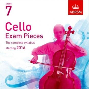 ABRSM Cello Exam Pieces Grade 7 2016-2019: Recording CD Only