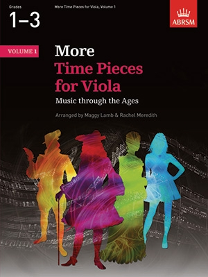 More Time Pieces: Vol 1: Viola & Piano (ABRSM)